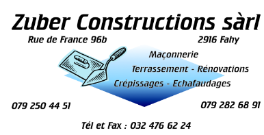 Zuber Constructions - Fahy
